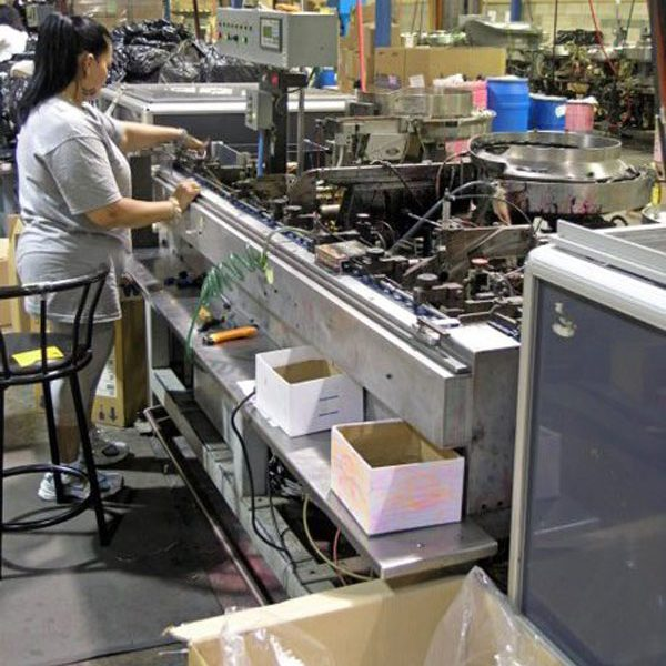 interior of Drimark factory glam photo