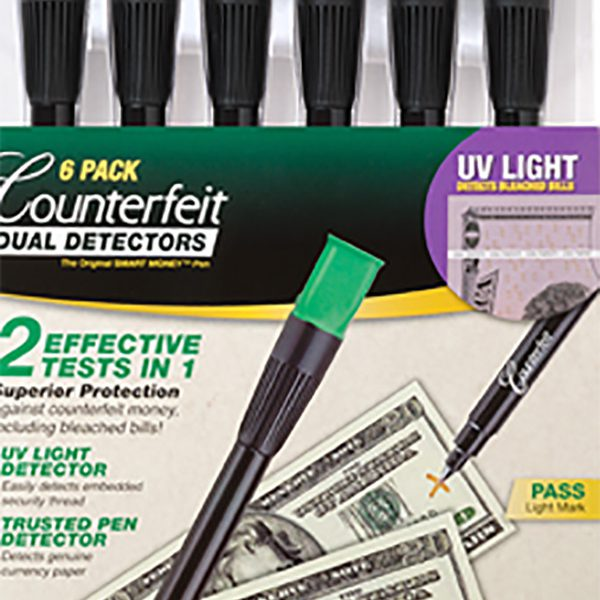 6-pack of Counterfeit Dual Detectors glam photo